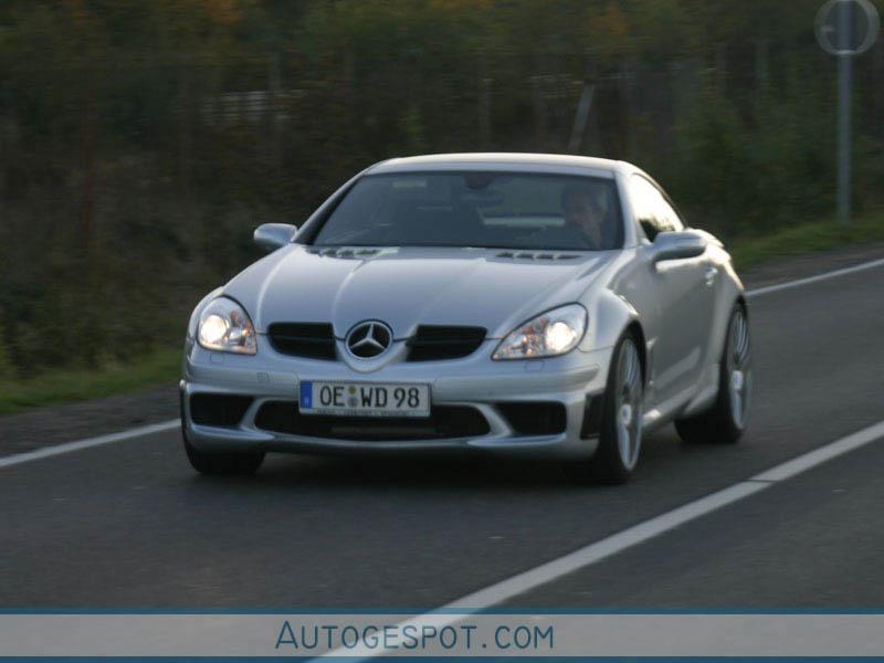 Mercedes benz slk 55 amg r171 black series 8 oktober for Mercedes benz slk series