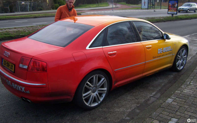 Audi S8 D3 - 28 december 2007 - Autogespot